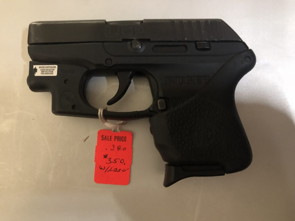 Ruger LCP with Laser (USED)